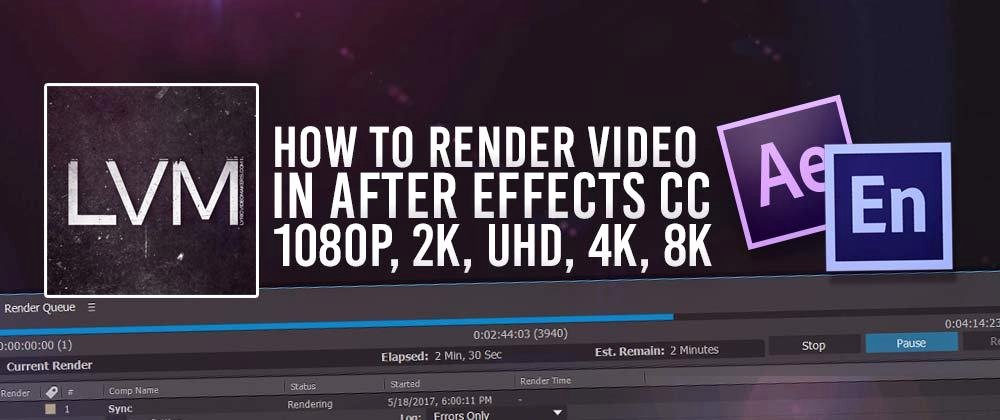 After Effects Lyric Video Lovely How to Render Export Video In Adobe after Effects Cc