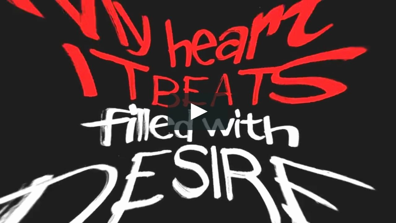 After Effects Lyric Video New after Effects Template Lyrics Kinetic Typography 3 On Vimeo