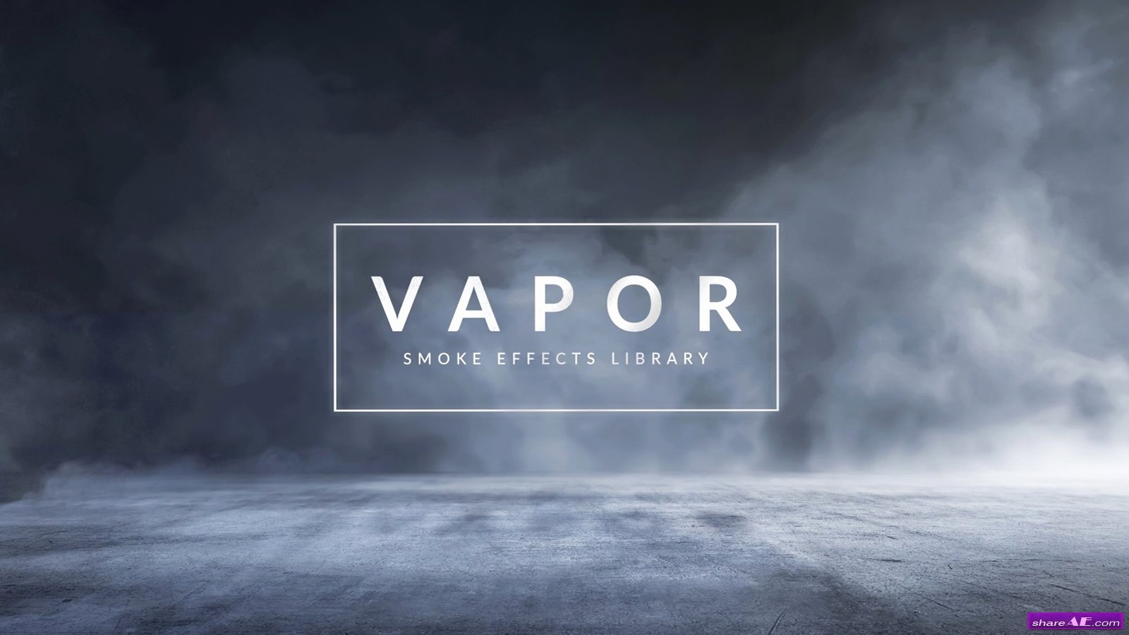 After Effects Lyric Video Template Luxury Vapor 100 Smoke & Fog Effects Rocketstock Free after