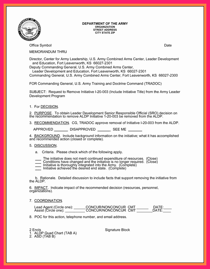 Air force Lost Receipt form Unique How to Write An Army Memo for Record