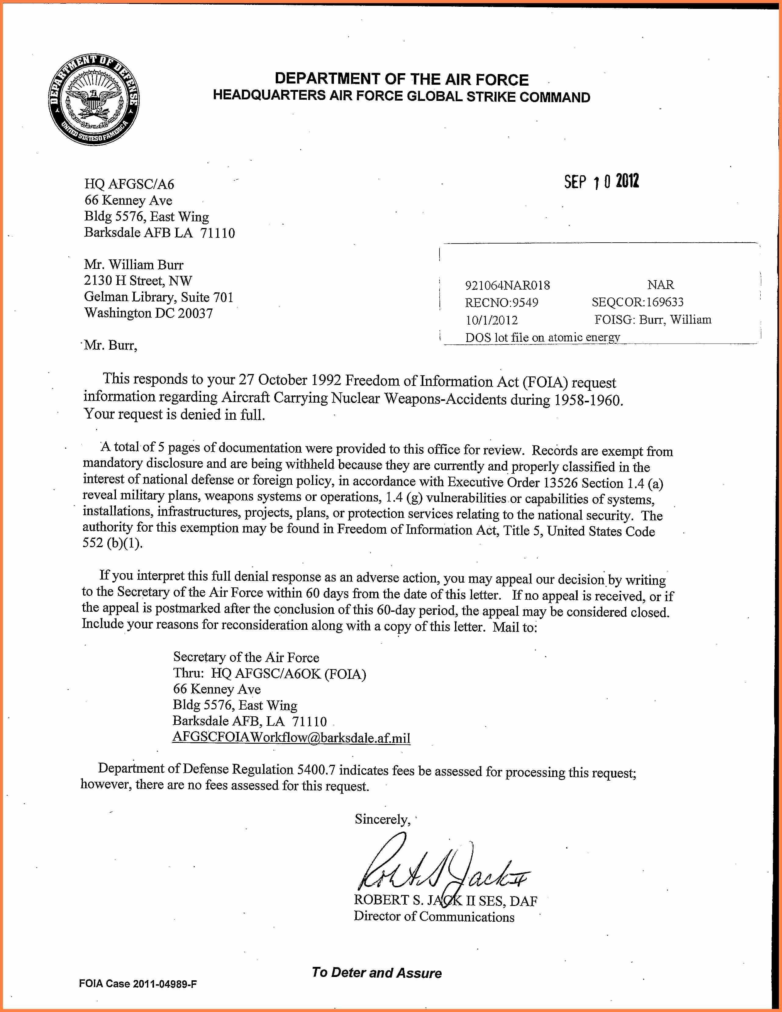 Air force Memorandum Template Elegant 10 Department Of the Air force Letterhead Template