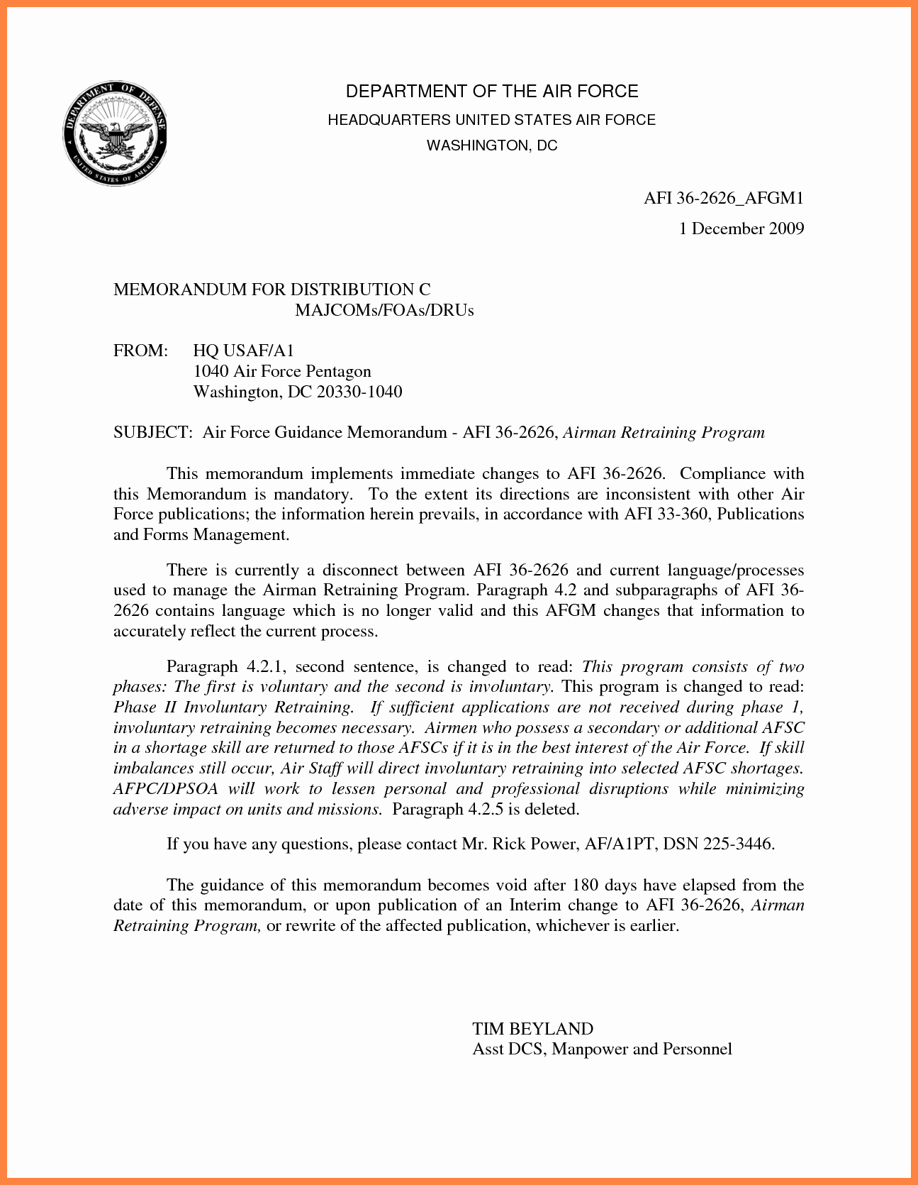 Air force Memorandum Template Unique 10 Air force Letterhead Template