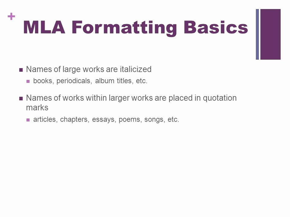 Album Title In Quotes New Using Mla Style 7th Edition Ppt Video Online