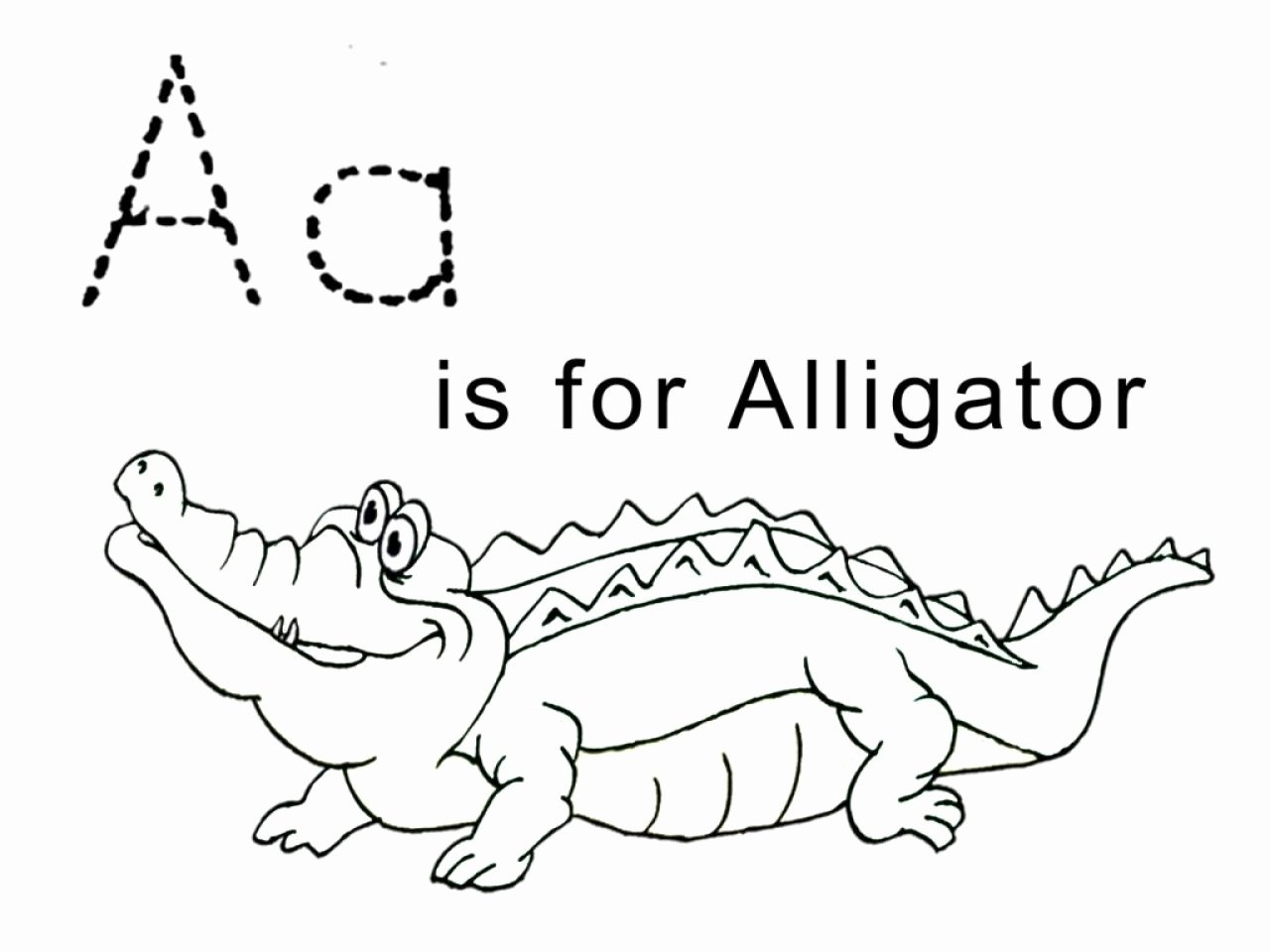 Alligator Template Printable Inspirational Baby Alligator Coloring Pages Easy Grig3