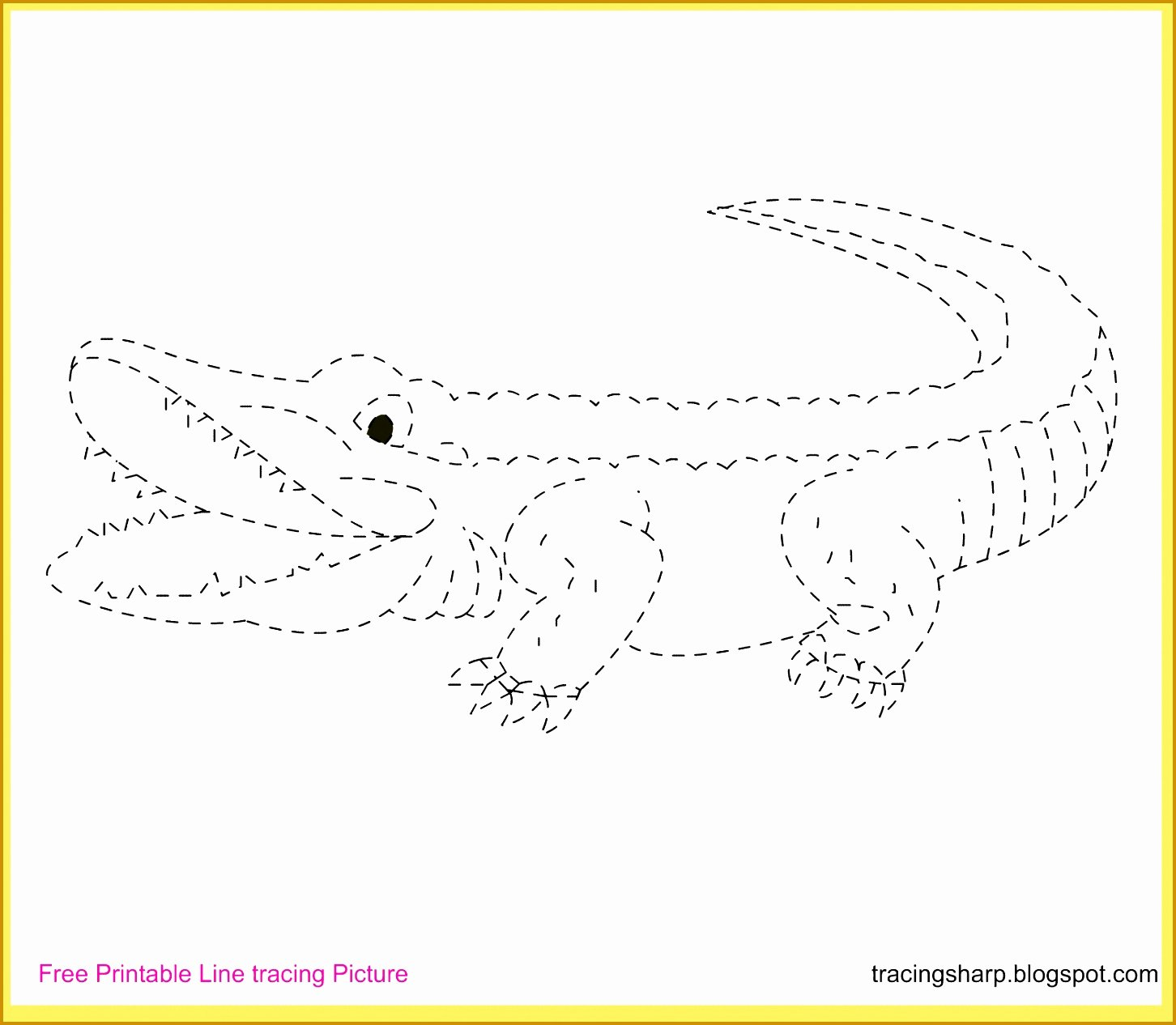 Alligator Template Printable Unique 4 Alligator Template Printable