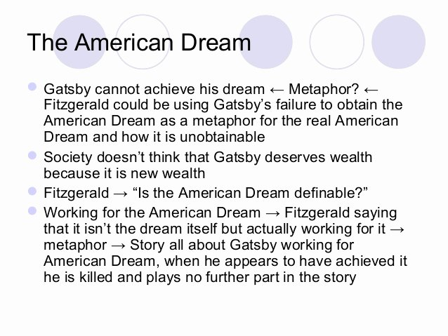 American Dream Essay Titles Luxury Corruption Of the American Dream In the Great Gatsby
