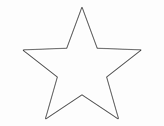 American Flag Star Stencil Printable Beautiful Star Template for American Flag