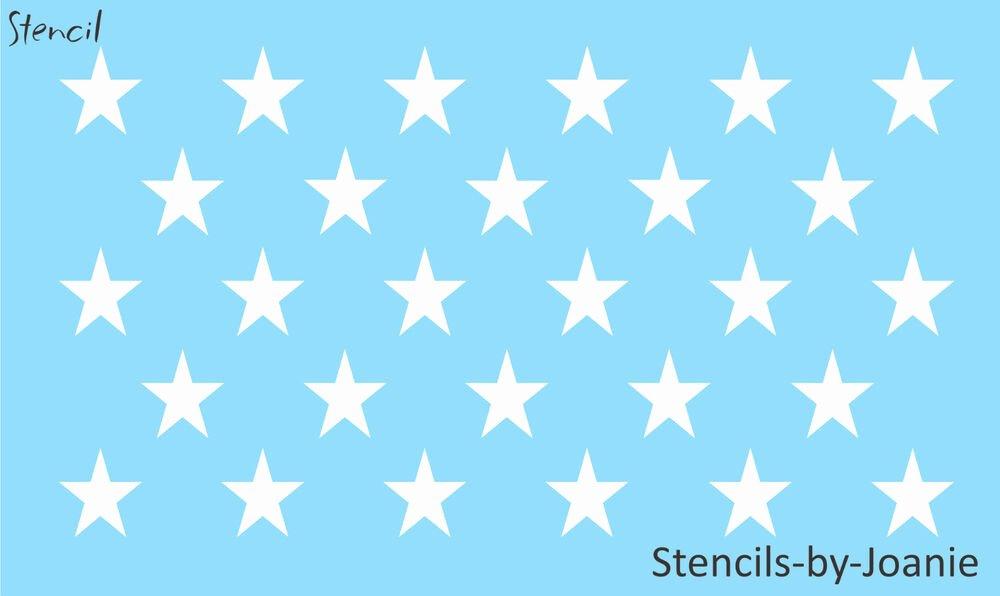 American Flag Star Stencil Printable Elegant Patriotic Stencil 1 75 Inch Stars Proud American Flag