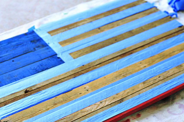 American Flag Star Stencil Printable Inspirational Distressed Wood Pallet American Flag