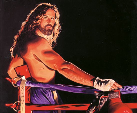 Americanization is tough On Macho Beautiful He Died for My Grins Christian Art Stephen Sawyer