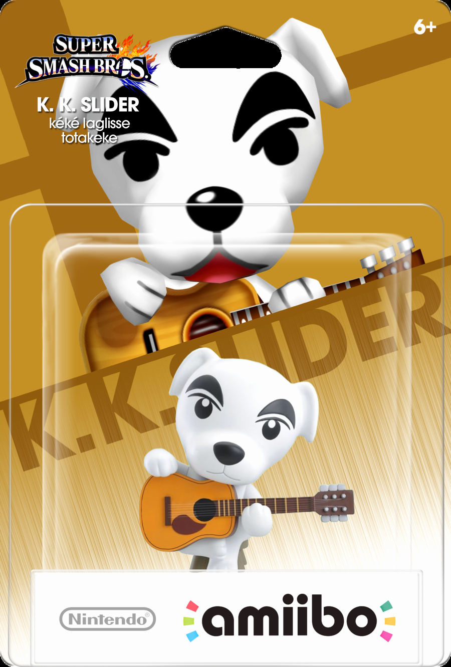 Amiibo Box Art Template Luxury Custom Amiibo Mockup K K Slider by Misteralex On