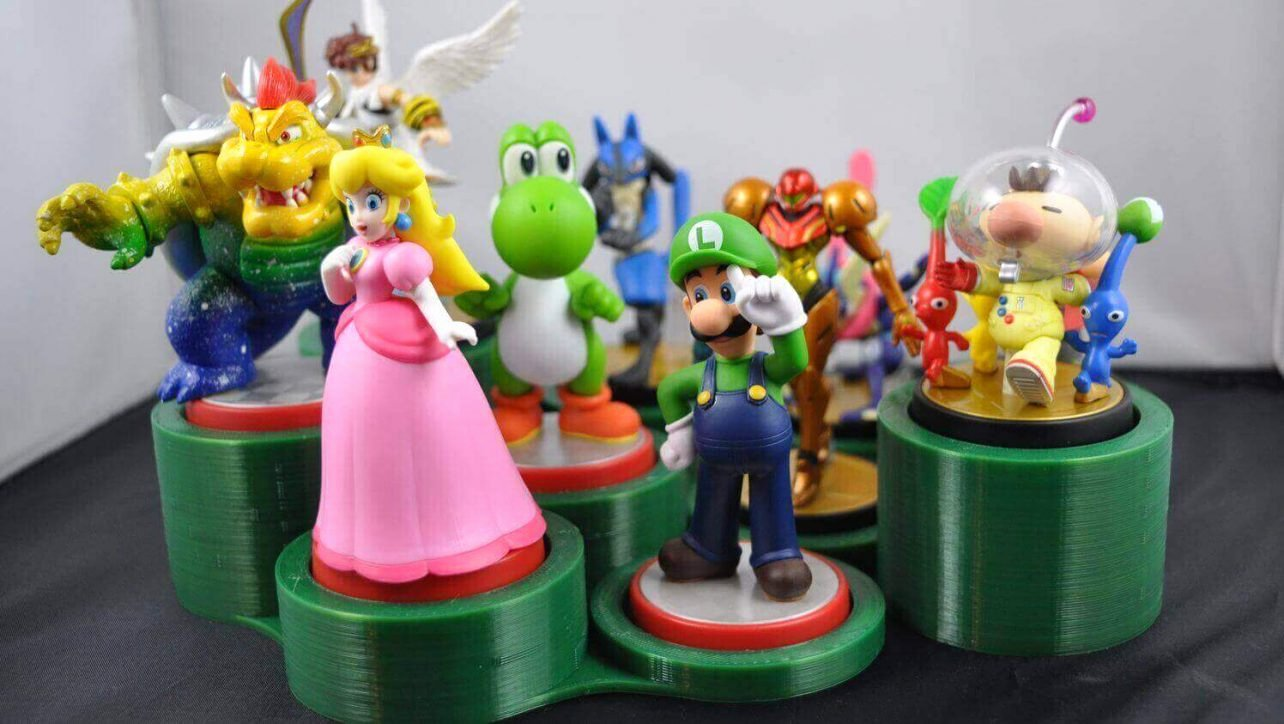 Amiibo Box Art Template Unique 10 Awesome Amiibo Stands & Display Cases to 3d Print