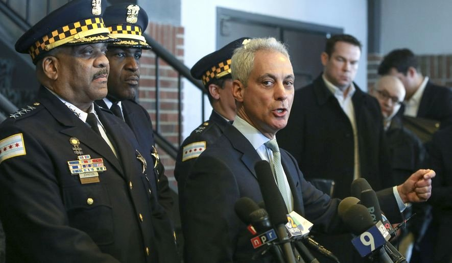 """""""human Resources Investigation Template"""" New Chicago Mayor Rahm Emanuel Right and Chicago Police"""