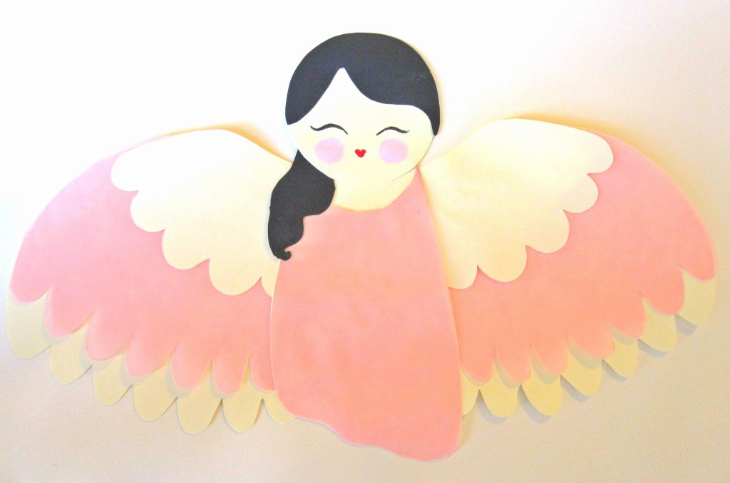 Angel Tree Template New Create A Paper Angel Tree topper