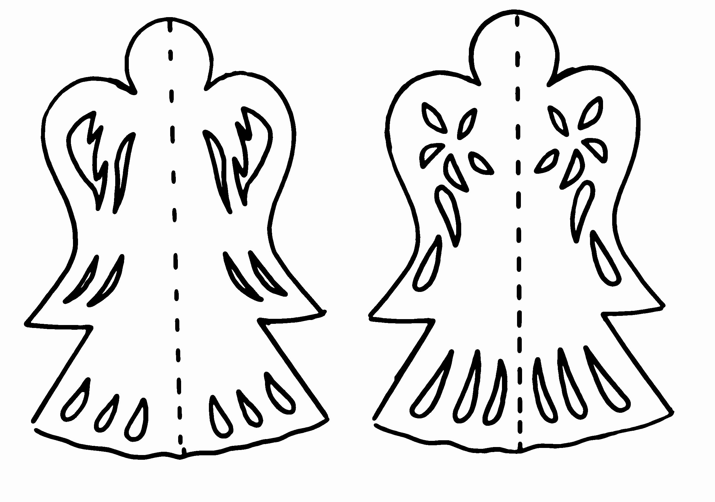 Angel Tree Template New Cute Tree Decorations with Templates