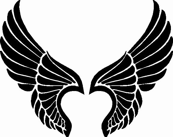 Angel Wing Stencil Printable Fresh Pix for Angel Wing Stencil