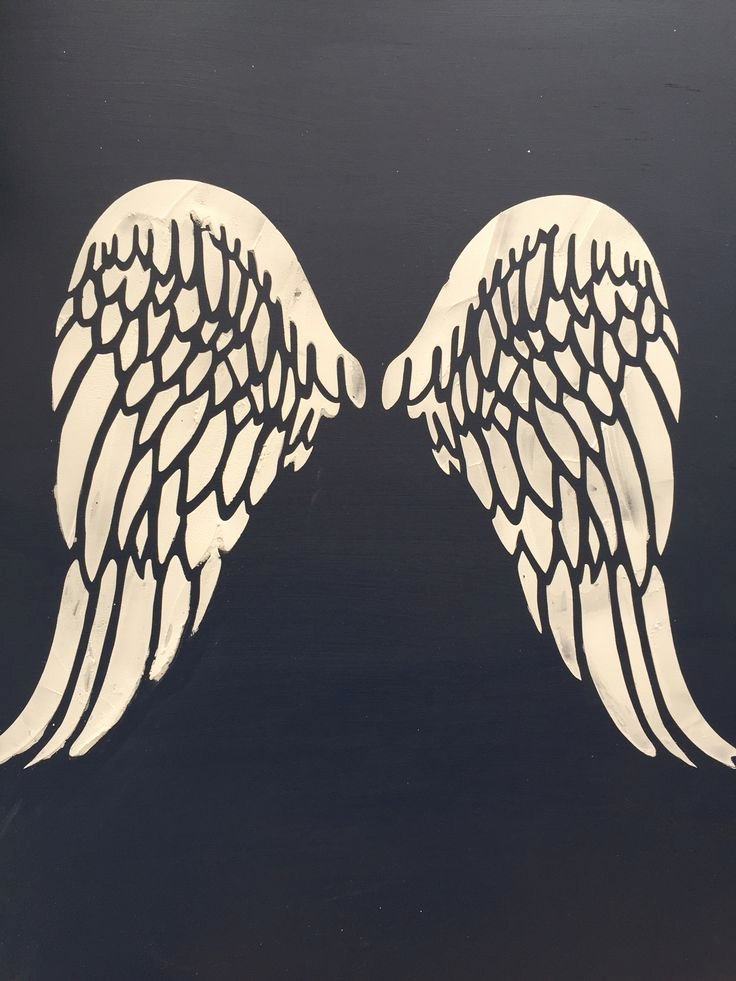 Angel Wing Stencil Printable Inspirational 1000 Ideas About Angel Wings Drawing On Pinterest
