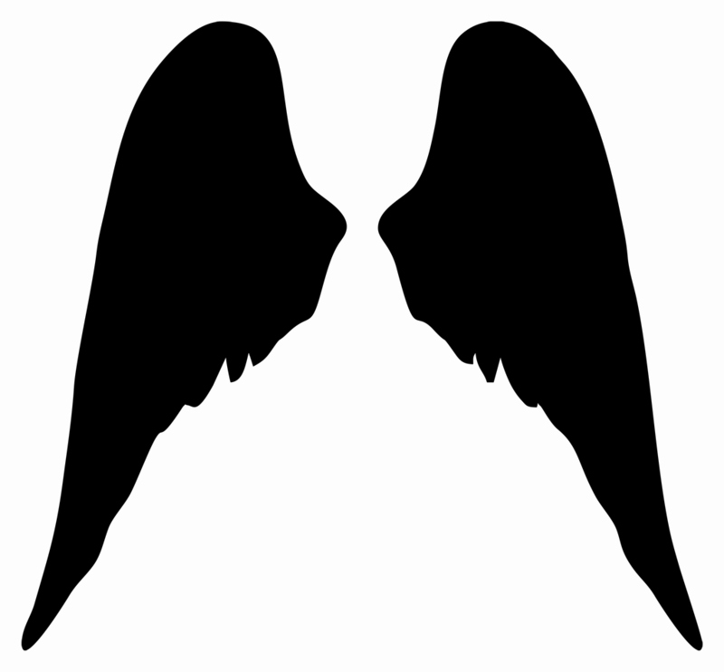 Angel Wing Stencil Printable Luxury Kenmo S Angel Wings Stencils