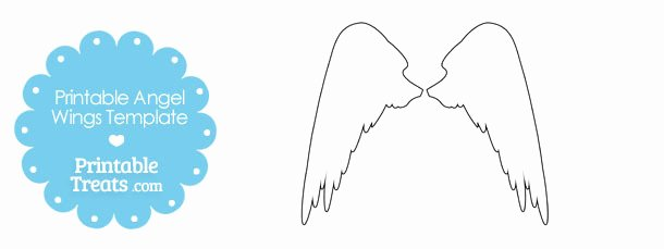 Angel Wing Templates Awesome Free Printable Angel Wings Download Free Clip Art Free