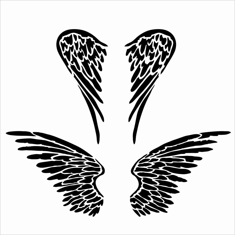 Angel Wing Templates Awesome Tcw 6x6 Template Angel Wings