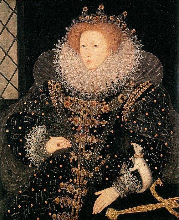 "Animal Imagery In the Pearl Elegant 1585 ""ermine"" Portrait by Nicholas Hilliard Hatfield"
