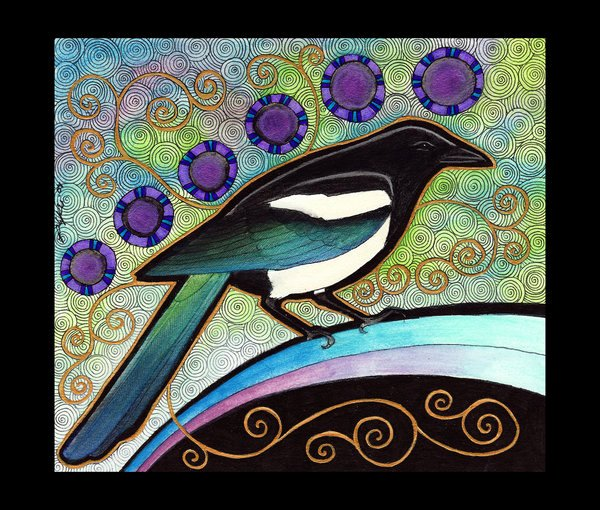Animal Imagery In the Pearl New Black Billed Magpie as totem by Ravenari On Deviantart