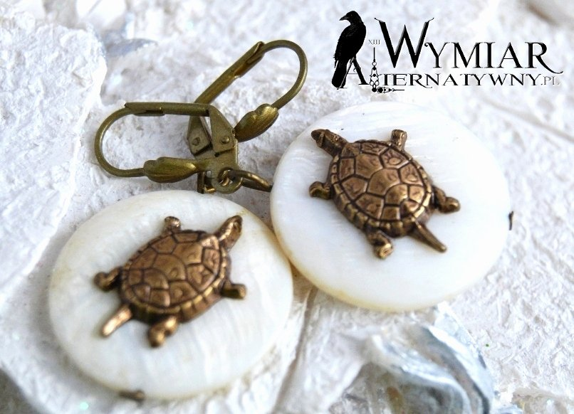 Animal Imagery In the Pearl New Turtles Animal Style Vintage Jewellery
