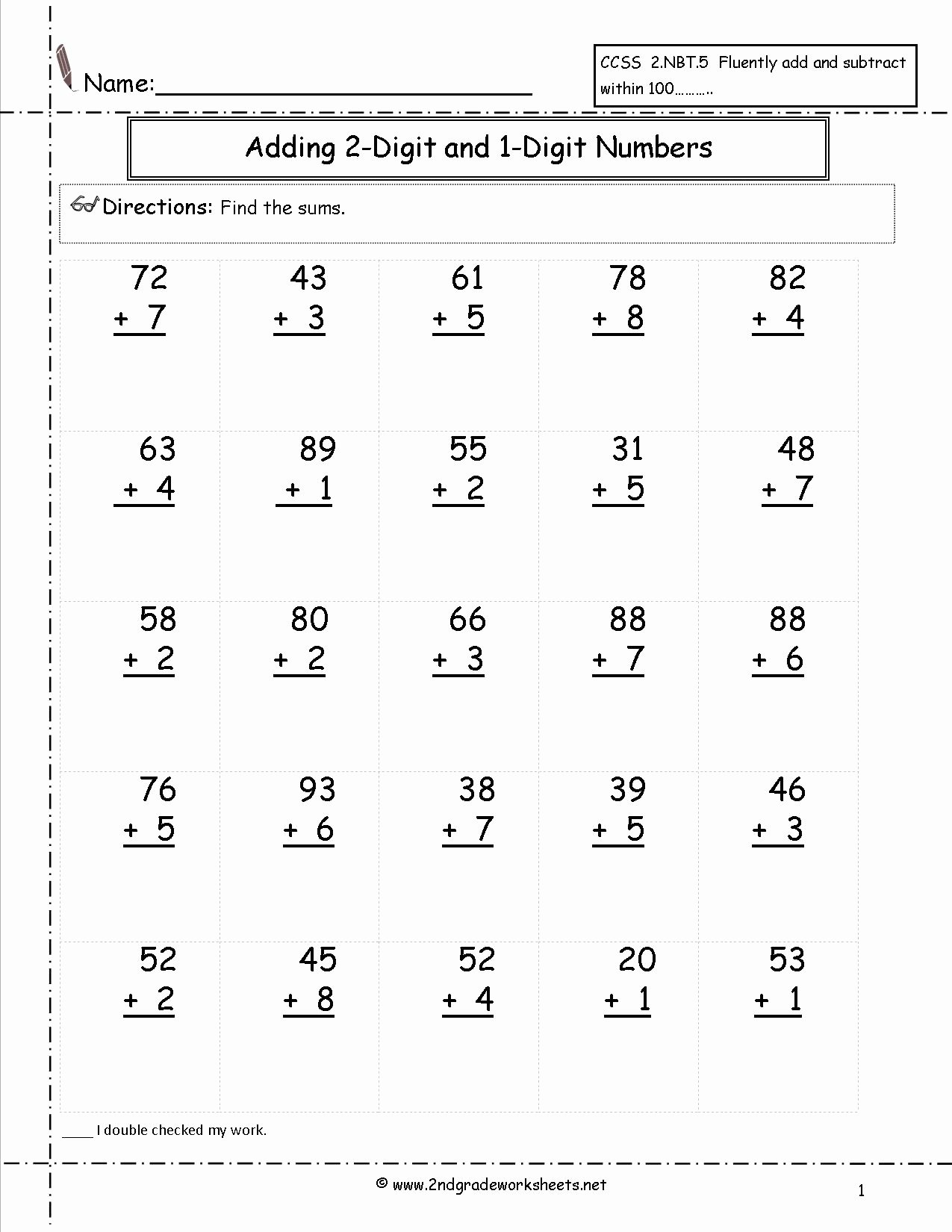 Answer Sheet Template 1-100 Inspirational 3 Digit Addition with Regrouping Worksheets Free the Best