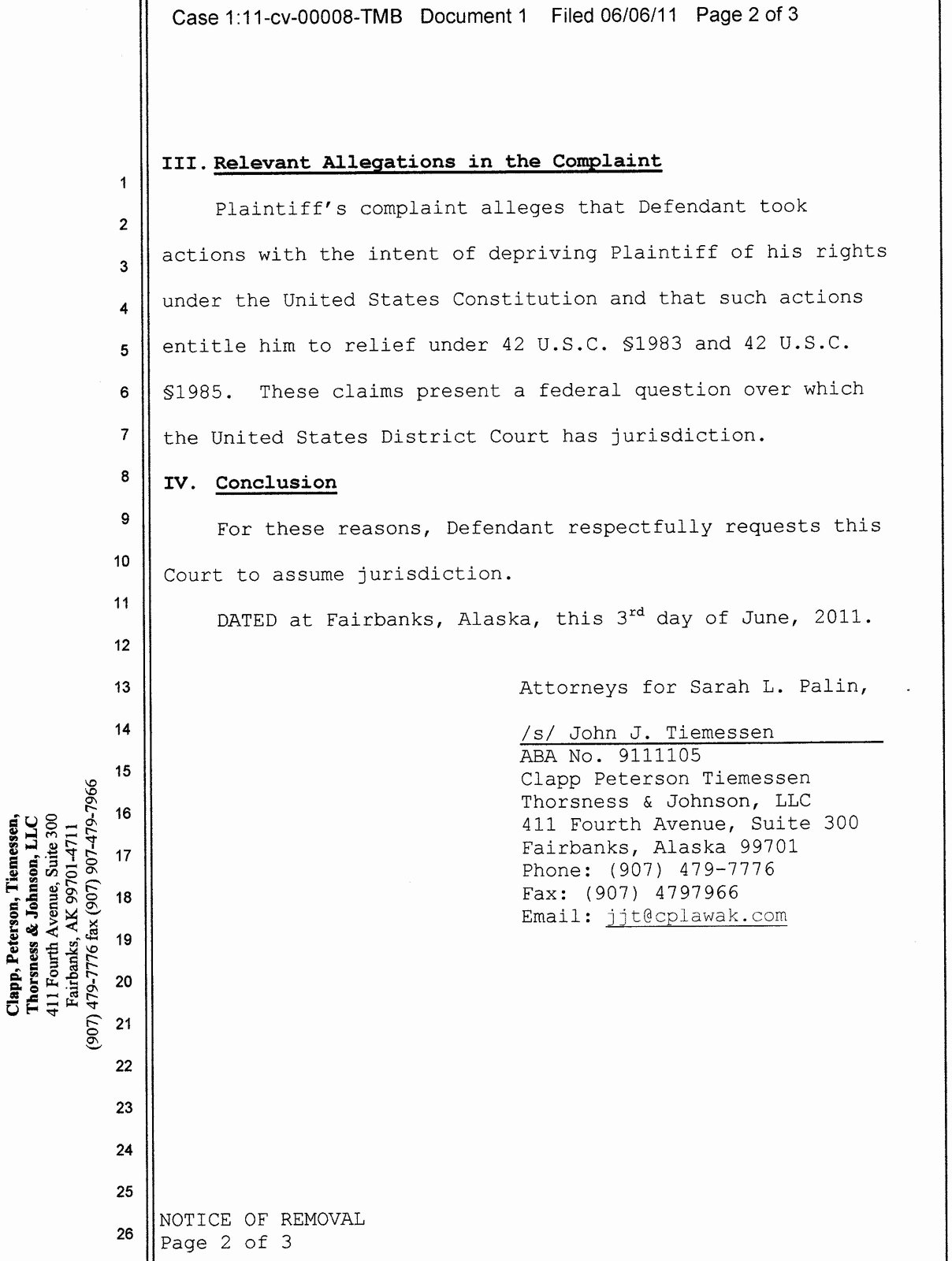 Answer to Civil Complaint Example Unique the Immoral Minority More On the Civil Lawsuit Against