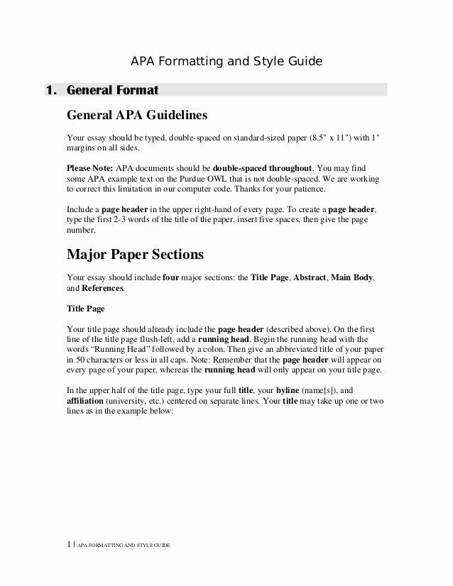 Apa Nursing Paper Examples Inspirational Best 25 Apa Title Page Example Ideas On Pinterest