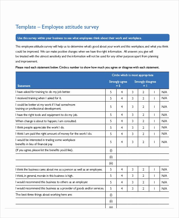 Apartment Market Survey Template Inspirational 60 Sample Survey forms Word Pdf