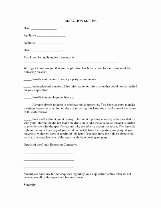Application Rejection Letter Best Of Counseling Case Notes Template