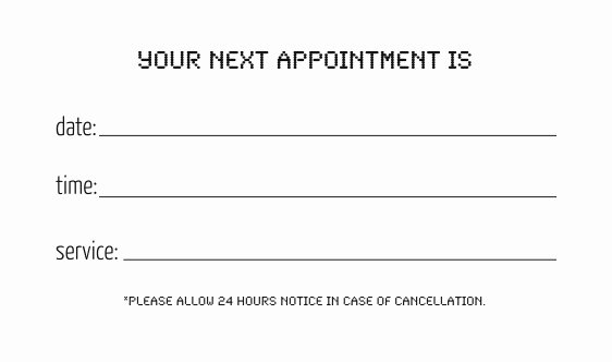 Appointment Reminder Template Word Lovely Brandi Valenza