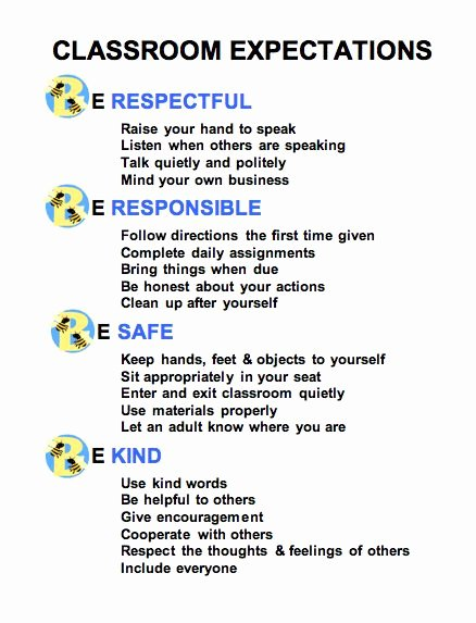 Appropriate Classroom Behavior Essay Awesome 1000 Ideas About Classroom Expectations On Pinterest