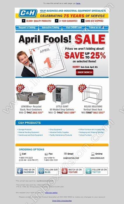 April Newsletter Template Elegant 21 Best Images About Email Design April Fool S Day On