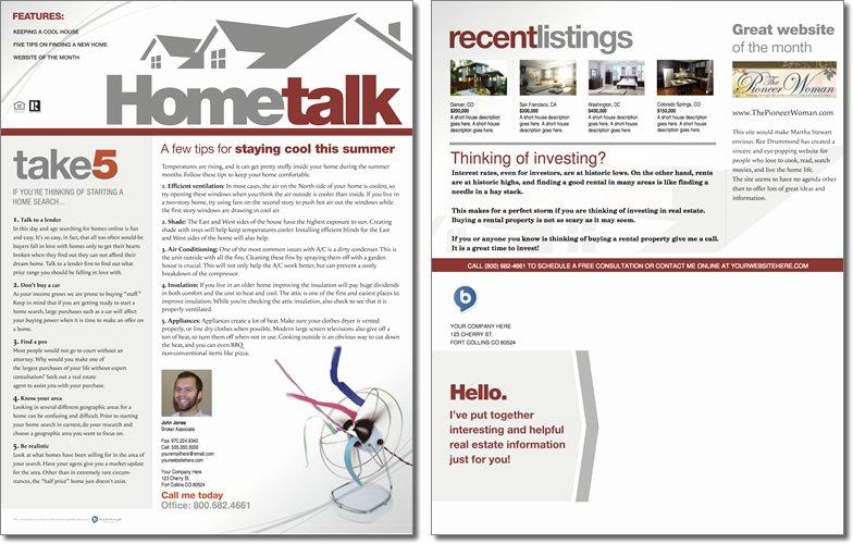 April Newsletter Template Elegant Hometalk Newsletter Template issue 1