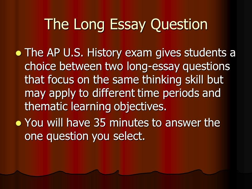 Apush Long Essay Examples 2015 Elegant How to Write An Apush thesis Statement & How to Tackle the