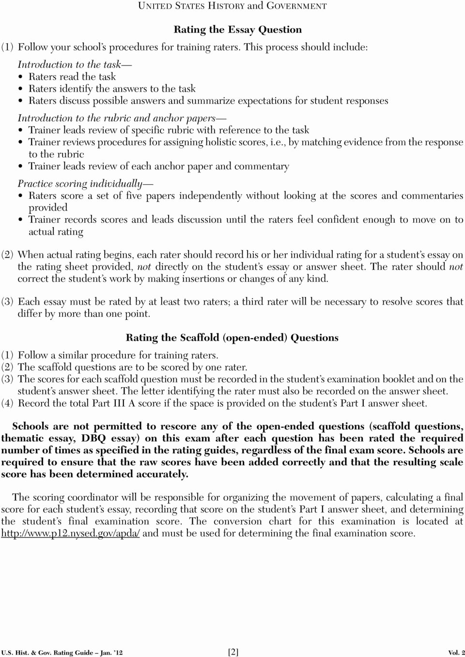 Apush Long Essay Examples 2015 New 56 Apush Essay Examples Colonial Dbq at Essaypedia