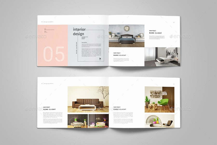 Architecture Portfolio Design Templates Beautiful Graphic Design Portfolio Template by Adekfotografia