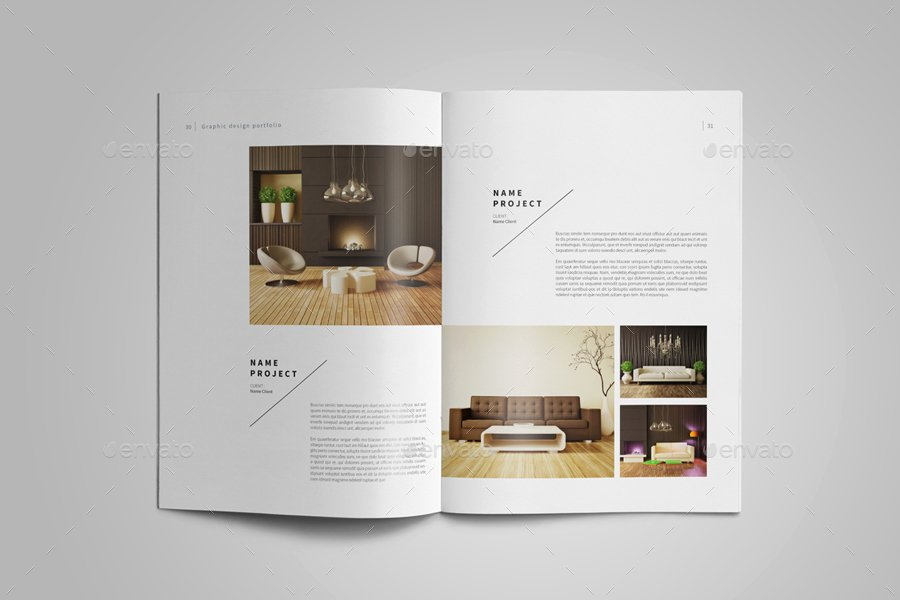 Architecture Portfolio Design Templates Best Of Graphic Design Portfolio Template by Adekfotografia