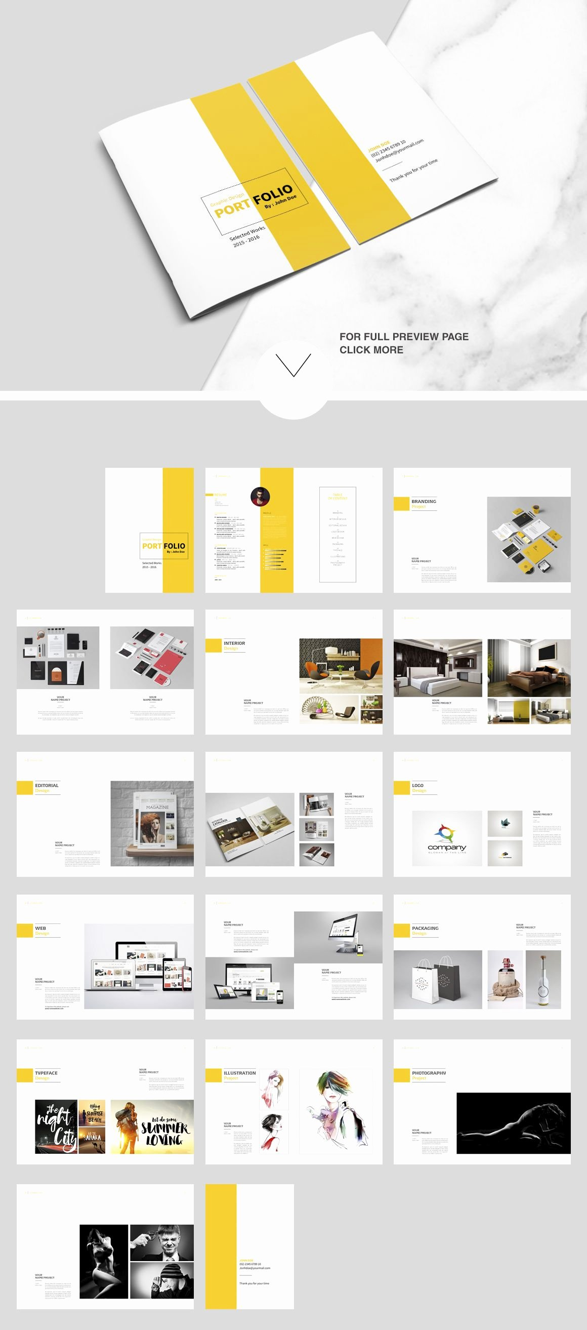 Architecture Portfolio Design Templates Best Of Indesign Portfolio Brochure Vol 2 by Tujuhbenua On