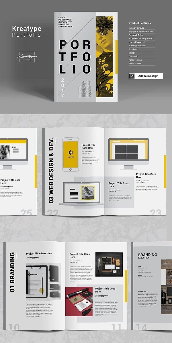 Architecture Portfolio Design Templates Best Of Kreatype Graphy Portfolio