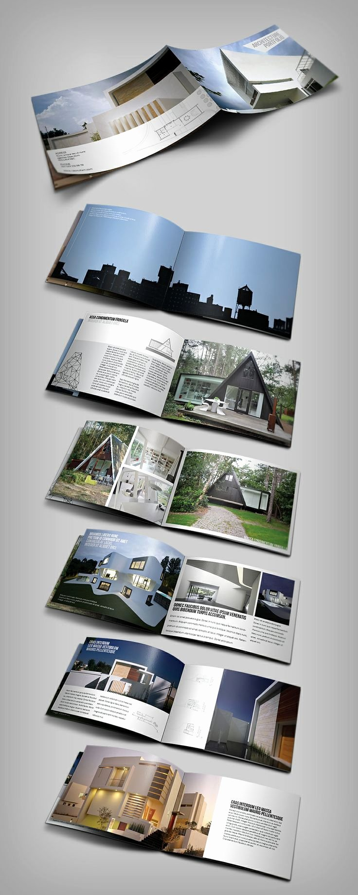 Architecture Portfolio Design Templates Elegant 17 Best Images About Cv Resume Portfolio On Pinterest