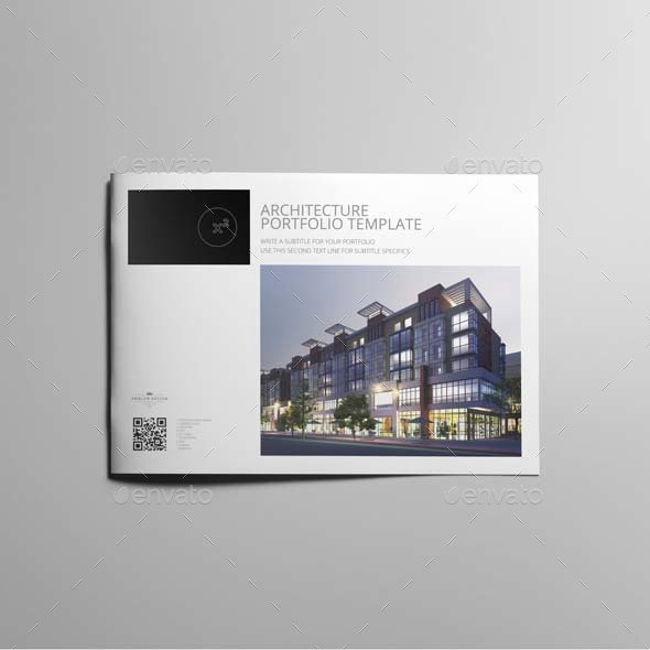 Architecture Portfolio Design Templates Fresh Architecture Portfolio Template by Keboto