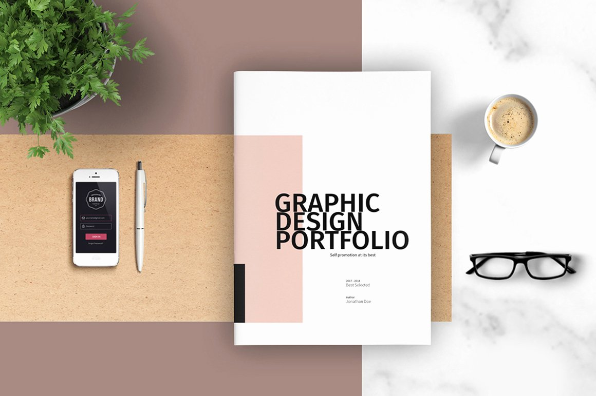 Architecture Portfolio Design Templates Fresh Graphic Design Portfolio Template