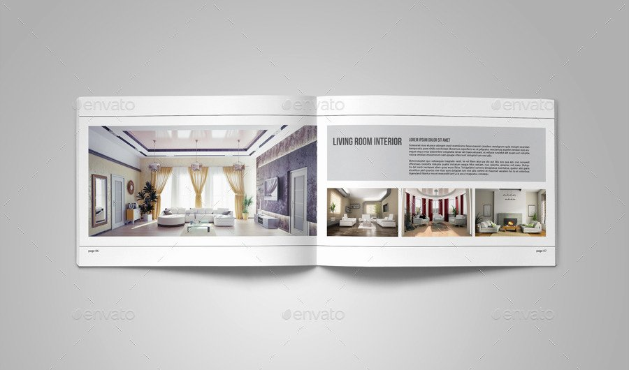 Architecture Portfolio Design Templates Fresh Portfolio Brochure Template On Behance