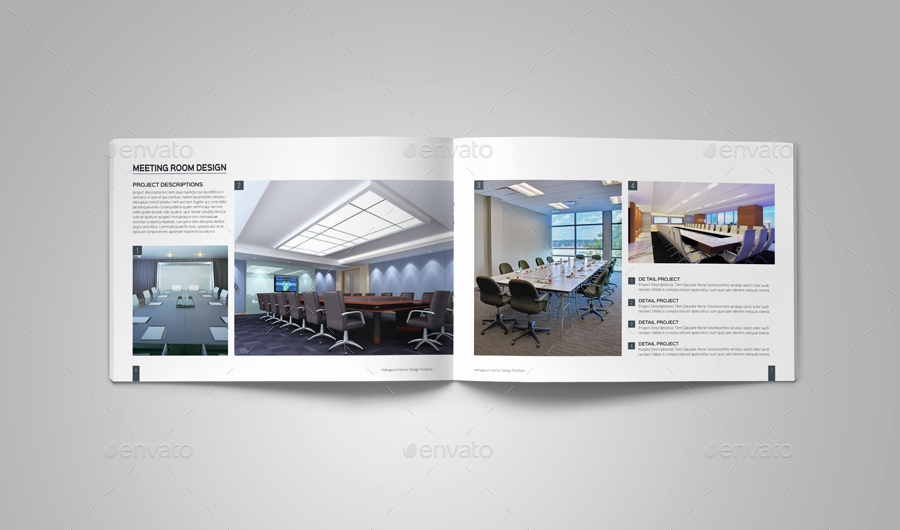 Architecture Portfolio Design Templates New Interior Design Portfolio Template by Habageud