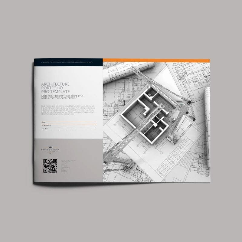 Architecture Portfolio Design Templates Unique Architecture Portfolio Pro Template