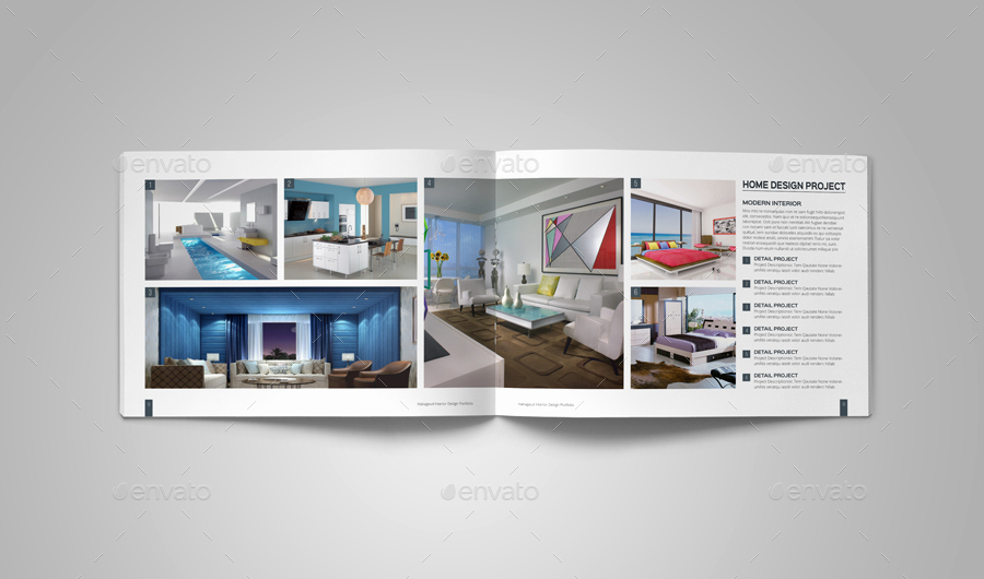 Architecture Portfolio Design Templates Unique Interior Design Portfolio Template by Habageud