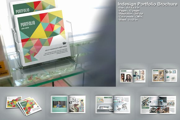 Architecture Portfolio Template Indesign Awesome Indesign Portfolio Brochure V207 Brochure Templates